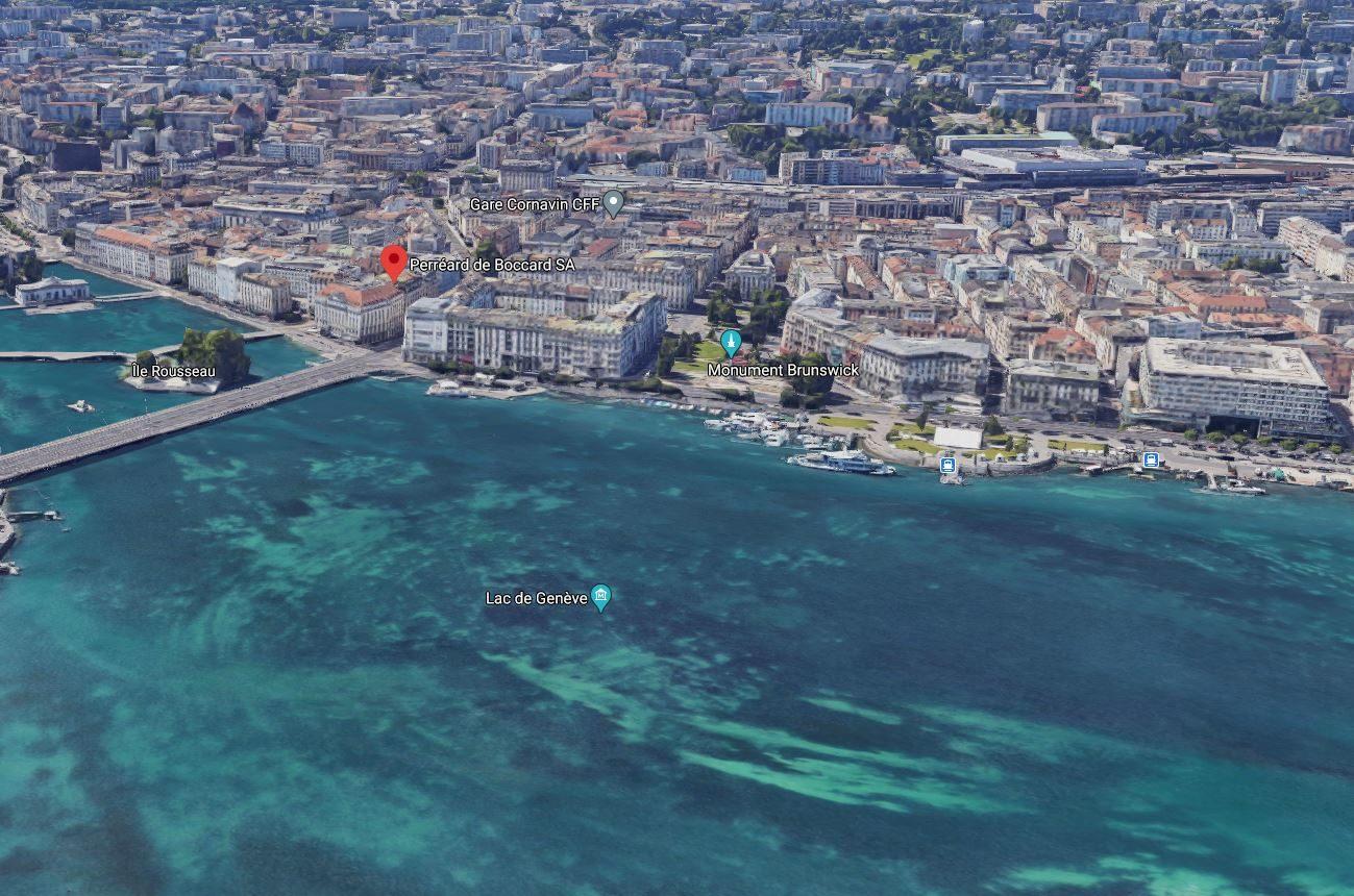 Perréard de Boccard SA Genève_Map